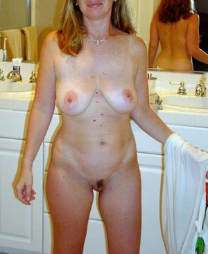 mature naked yoga