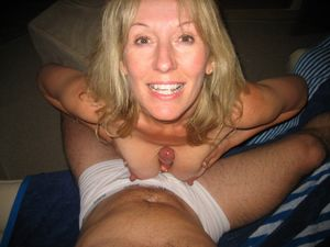 blonde thick milf