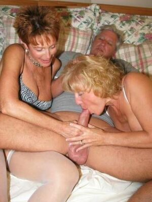 granny giving blowjob