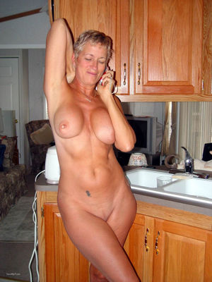 nude older woman