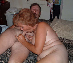 granny spreads pussy