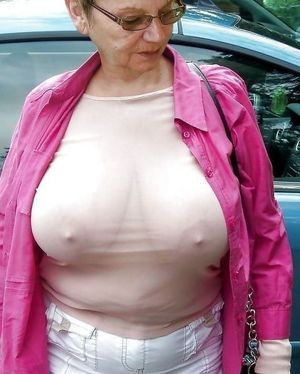 old granny boobs
