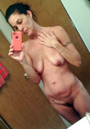 mature wife selfies