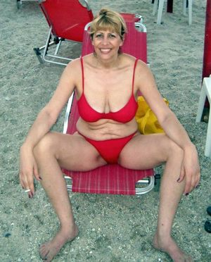 mature swimsuit
